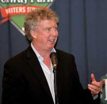 Dan Shaughnessy, Boston Globe columnist and colleague and friend of Bob Ryan's.