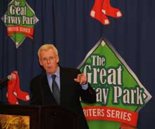 Peter Gammons makes a point during his November appearance.