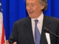 Congressman Ed Markey at the Writers Series Capitol Hill luncheon.