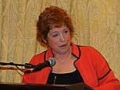 """Jane Leavy, author of """"The Last Boy: The End of an American Childhood"""", a biography of Mickey Mantle, for which Ms. Leavy has received extraordinary reviews, at the Writers Series dinner at the Hotel Commonwealth."""